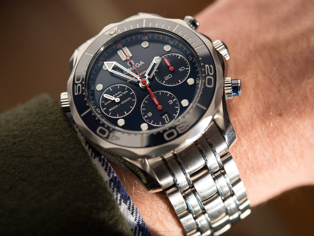 129eecd4370a Replica AAA Omega Seamaster 300 m Co – Axial Chronograph 41.5 mm watch