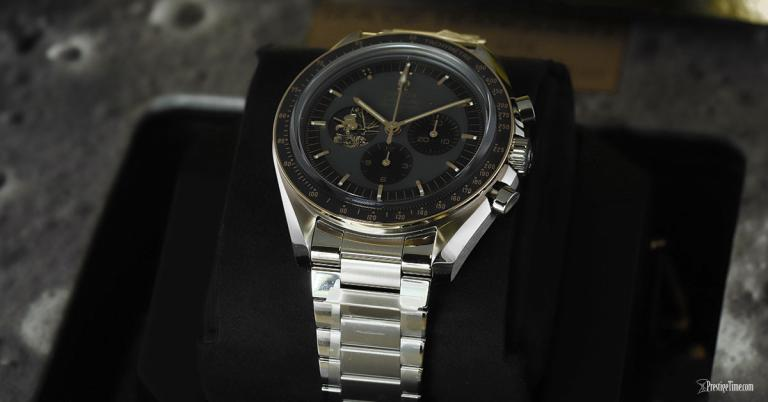On Hands of Top Omega Speedmaster Professional Moonwatch Apollo 11 Replica Watch