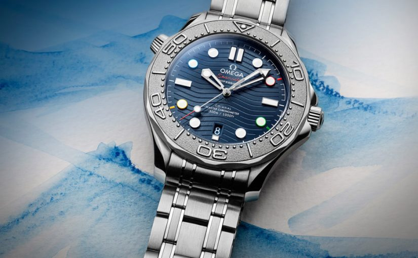 "Cheap Omega Released New Seamaster Diver 300M ""Beijing 2022"" Special Edition Replica Watches"