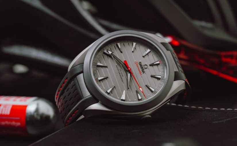 High Quatily Omega Gamma Titanium Seamaster Aqua Terra Ultra Light Replica Watches