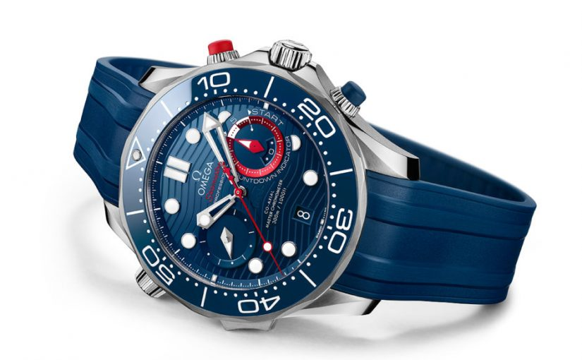 Perfect Omega Released New Seamaster Diver 300M America's Cup Chronograph Replica Watches