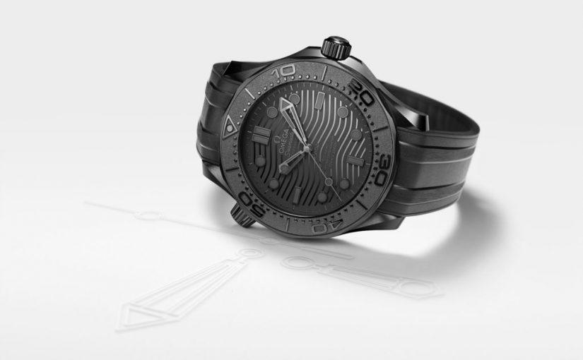 Cheap Omega Released Seamaster Diver 300M Black Black Replica Watches